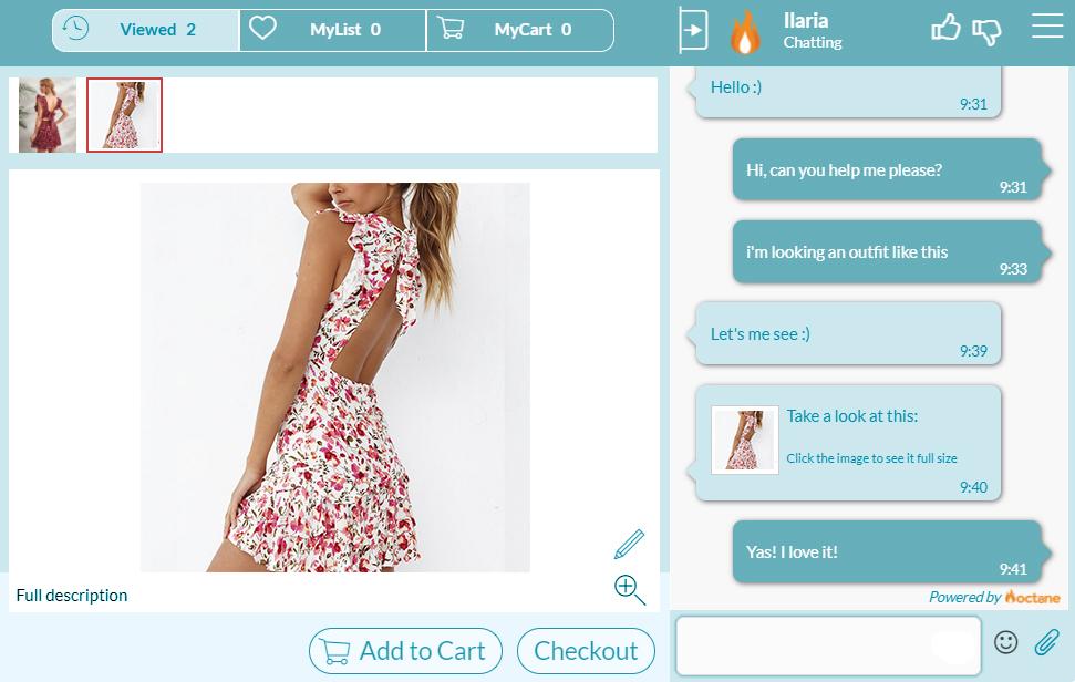 personal shopper fashion e-commerce
