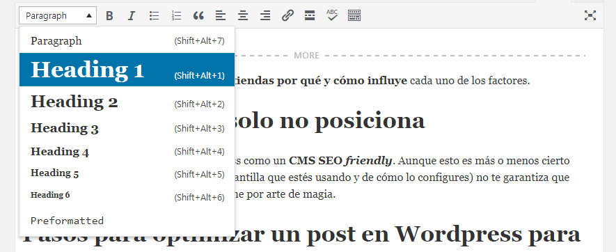 posicionar post seo wordpress